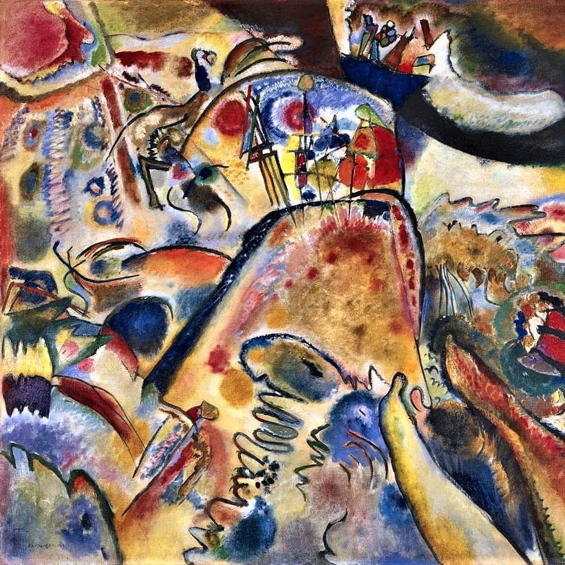 Gemälde Kandinsky